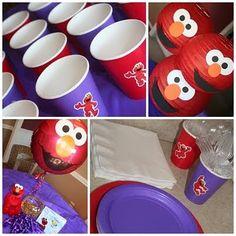Elmo decorations
