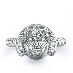 Maltese Twisted Wire Rope Ring