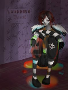 Laughing Jack in the box by Paouwu