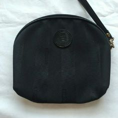 FENDI SMALL CHANGE/MAKE UP CASE Authentic, Adorable and in great condition. Approximation 7 inches across. FENDI Makeup