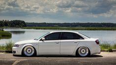 Audi b6 side shot.