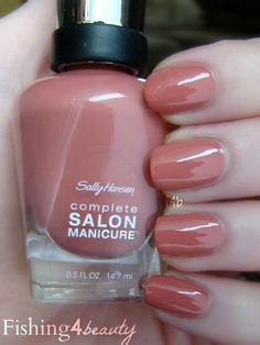 Fishing4Beauty: Sally Hansen CSM--So Much Fawn