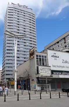 Warszawa Warsaw Варшава Warschau 華沙. Pasaż Wiecha. Nieczynne kino Relax.