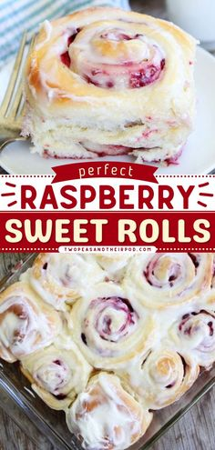 Get ready to indulge in this easy breakfast recipe! These soft and fluffy Raspberry Sweet Rolls with cream cheese frosting are pretty and festive. It's the perfect brunch recipe too! Save this pin. Healthy Oatmeal Recipes, Delicious Breakfast Recipes, Brunch Recipes, Sweet Roll Recipe, Best Cinnamon Rolls, Raspberry Recipes, Breakfast Casserole Easy, Easy Bread Recipes, Rolls Recipe