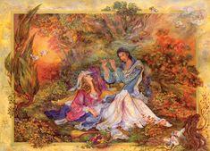 Enchanted Melody by Mahmoud Farshchian