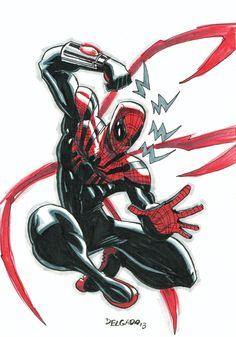 Superior Spider-Man by Edgar Delgado