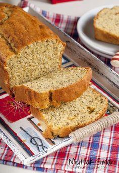 Haşhaşlı Limonlu Kek Tarifi   Mutfak Sırları