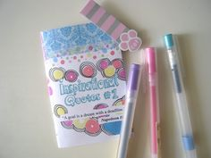 { D r e a m C a t c h e r }: { Inspirational Quotes Mini Zine #1 - Freebie Aug ...