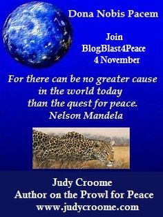 BlogBlast4Peace - spreading peace in  the world one blog at a time