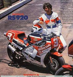 Malcolm Campbell, one of the best riders to never compete in 500 GP's. Valentino Rossi, Road Racer Bike, Moto Car, Bike Rider, Racing Motorcycles, Road Racing, Custom Bikes, Motogp, Cool Bikes