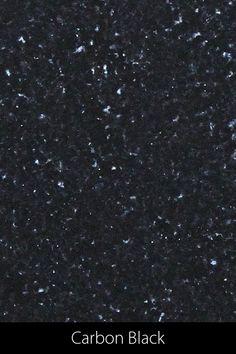 Beinahe als richte man den Blick empor zum nächtlichen Sternenhimmel Richtung Universum, so erleuchten beim indischen Carbon Black unzählige Glimmerplättchen, den sonst tiefschwarzen Stein. Der charismatische Carbon Black verzaubert mit seiner magische anmutenden Tiefe und eignet sich wegen seiner noblen Aura auch besonders für noble Esstische Carbon Black, Design, Home Decor, Petrified Wood, Marble Top, Natural Stones, Universe, Interior Design, Design Comics