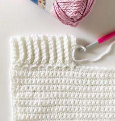 Holly das Nilpferd häkeln Decke , Holly the Hippo Crochet Blanket , Daisy Farm Crafts Crochet So. Crochet Unique, Crochet Simple, Crochet Stitches Patterns, Crochet Designs, Knitting Patterns, Easy Knitting, Crochet Blanket Border, Crochet Afghans, Baby Blankets