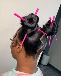 Hair Ponytail Styles, Weave Ponytail Hairstyles, Braids Hairstyles Pictures, Black Girl Braided Hairstyles, Slick Hairstyles, Sleek Ponytail, Baddie Hairstyles, Dyed Natural Hair, Natural Hair Styles