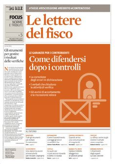 i Focus de Il Sole 24 Ore - Le lettere del Fisco (27.03.2013)