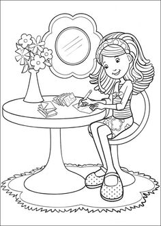 Groovy Girls Coloring Pages 12