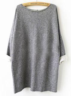 Grey Batwing Sweatshirt