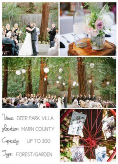 Northern California wedding venues on I Do Venues - Deer Park Villa by eLLe Photography.