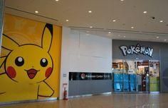 Pokemon center, the most epic place, besides japan!