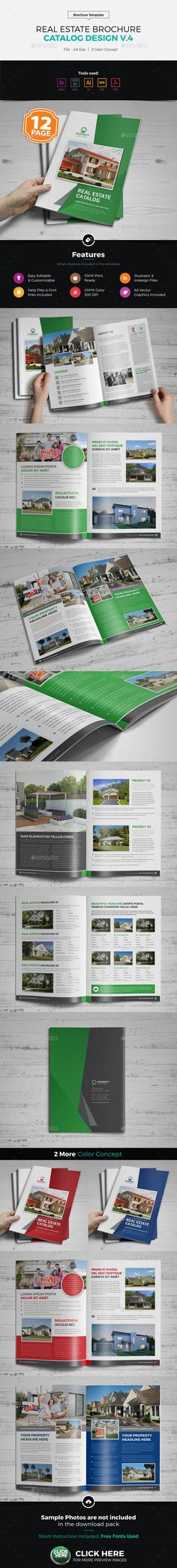 Real Estate Agency Brochure Catalog v1 Real estate agency - sample real estate brochure
