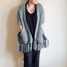 SABRINA POCKET WRAP - Free Crochet Pattern - lulostitchco.com