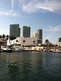 American Airlines Arena from Strictly Sail 2012.