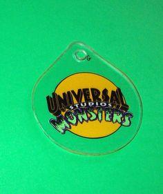 Universal Monsters Studios PINBALL MACHINE Keychain Creature From Black Lagoon #BallyCreatureFromTheBlackLagoon