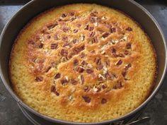 עוגת מייפל ופקאנים