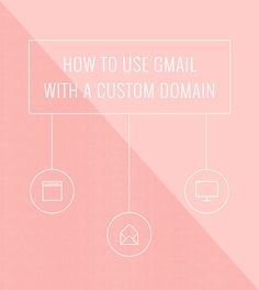 """How to Use Gmail With Your Own Custom Domain. 