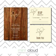 Save 20% // Diy Printable Wedding Program: Order Of Service - Rustic - Carved…