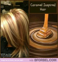 Caramel Inspired Hair… Reminds Me Of Jennifer Aniston's Hairstyle.