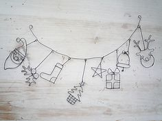 Christmas wire shapes - link does not work but idea for the stainless wire I bought