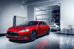 Tesla Model S P85D. 0 to 60 in 3.2 seconds. The fastest sedan in the world!   lessonator.com