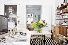 Home Office Atelier Karasinski / estilo eclético