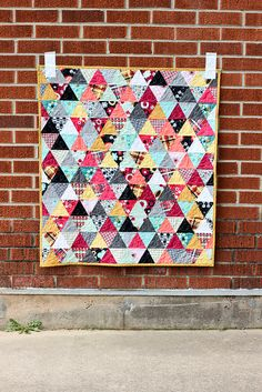 Nordika Triangle Baby Quilt | Flickr - Photo Sharing!