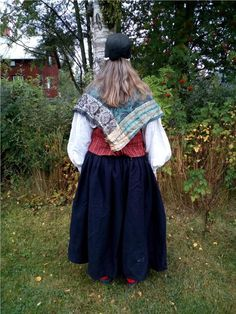 Beautiful Older Ljusdal Ljusdal Costume Costume. 2/4