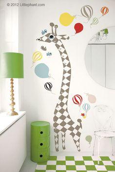 Littlephant – Wall Sticker Measuring Ruler | Le Cor-Beau