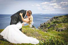 Andrew + Renee. Baie Verte, Newfoundland Wedding Photography by JP Mullowney.