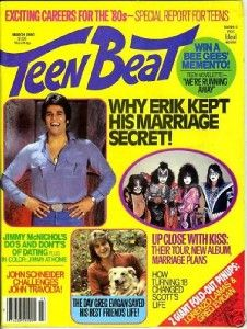 Teen Beat magazine!
