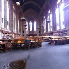 360 of the Graduate Reading room in Suzzallo Library