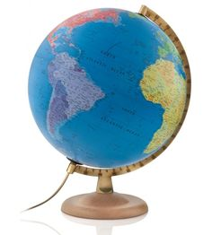 Classic P4 Blue Ocean Political World Globe