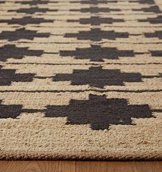 Bowen Jute & Wool Rug - | Rejuvenation