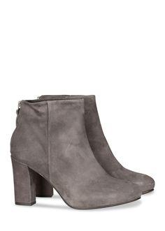 PEDRO MIRALLES elegante Ankle Boots mit Zipp – grau - MONDIALmode