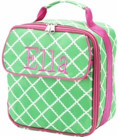 Green Academy Personalized Lunch Bag