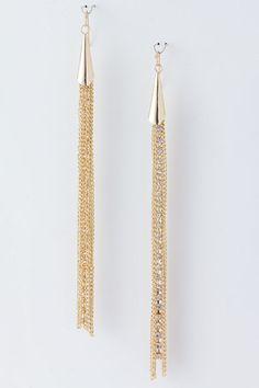 Metal Fringe Earrings