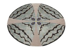 'Psyche' rug by Deirdre Dyson from the 'Butterfly Collection'.