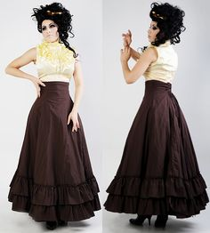 I love the SHAPE of this skirt.