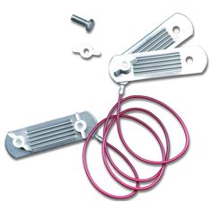 KuGuo Electric Fence Corner or Ends Insulator with Buckles for Polytape up to 40mm Wood Post Tape Connector 10P