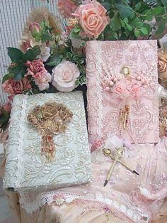 Large Victorian Lace Photo Album