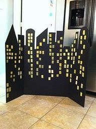 superhero party backdrop