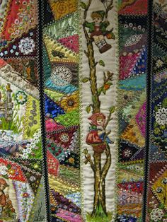 Quilting Blog - Cactus Needle Quilts, Love the Hummel border.
